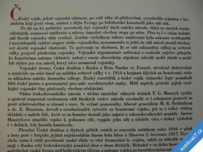 foto    NÁŠ VOJÁK  MATOUŠEK  TERINGL 1934  BIBLIOFILIE