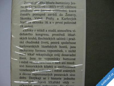 foto    POSLEDNÍ NOC / Z PAMĚTÍ DR.JEANA DE CARRA ŠUBRTOVÁ