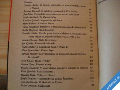 foto    CESTOU BOJE REVOLUCE V PRAZE 4  SNPL 1961