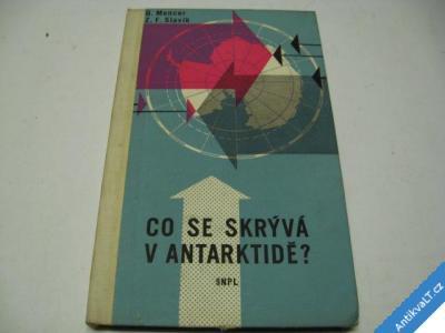 foto    CO SE SKRÝVÁ V ANTARKTIDĚ? POLIT. ROZDĚLENÍ  1959