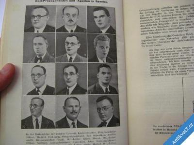 foto    DAS BRAUNE NETZ HITLERS AGENTEN IM AUSLANDE.. 1935