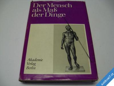 foto    DER MENSCH ALS MASS DER DINGE  MÜLLER  BERLIN 1976