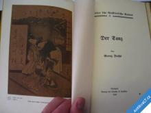 ZAJÍMAVÁ NĚMECKÁ KNIHA  STOLOVÁNÍ UMĚNÍ... 1906
