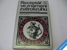 RECEPTÁŘ VE ZNAMENÍ ZVĚROKRUHU  PINKOVÁ A.  1989