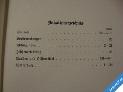 foto    LATEIN FÜR DEN SIPPENFORSCHER WÖRTERBUCH 1939
