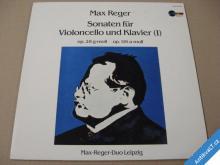 MAX REGER SONATEN FÜR VIOLONCELLO UND KLAVIER 1984